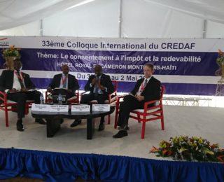 33ème Colloque international du CREDAF – Haïti – Le consentement à l'impôt et la redevabilité –